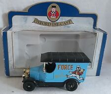 OXFORD DIECAST FORCE FOR WHEAT BULL NOSED MORRIS VAN DIECAST BOXED