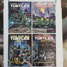 Teenage Mutant Ninja Turtles Graphic Novels Lot 1 2 3 4 All Signed w/Sketch!