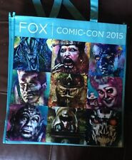 SDCC 2015 Fox PREDATOR 66 Tote Bag Swag Promotional Convention Exclusive 2 SIDED