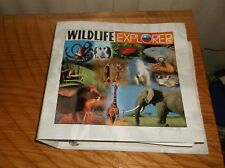 Wildlife Explorer Binder 135 Cards Mammals Birds