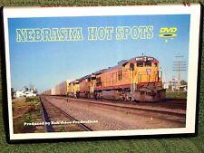 """n016 TRAIN VIDEO DVD """"NEBRASKA HOT SPOTS""""  1990's"""