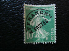 FRANCE - timbre yvert et tellier preoblitere n° 51b (sans gomme) (A20) french