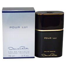Oscar de la Renta POUR LUI 3oz / 90ml Mens Eau De Toilette Spray New in Box