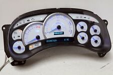03 04 05 Cadillac Escalade Reman Instrument Panel Cluster WHITE 0 MILES $50 BACK