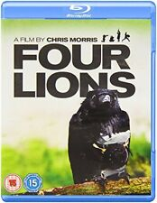 Four Lions [Blu-ray] [DVD][Region 2]