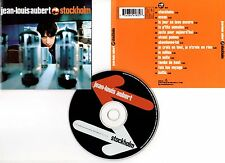 "JEAN-LOUIS AUBERT ""Stockholm"" (CD) 1997"