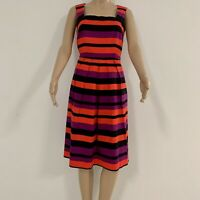 Gorgeous Queenspark Sleeveless Dress Striped Size 10