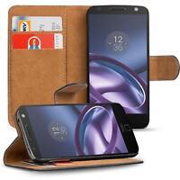 Klapptasche für Motorola Moto Z Handy Hülle Case Flip Cover Tasche Book Etui