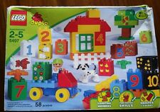 LEGO® DUPLO 5497 Play with Numbers 2-5  58pcs  NEW
