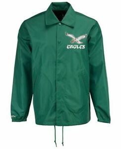 Mitchell and Ness Philadelphia Eagles Throwback Coach's Jacket XL