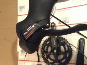 Shimano Tourney commuter bicycle build kit with wheels tires shifters etc