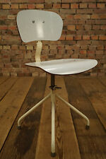 Vintage Werkstattstuhl Architektenstuhl Drehstuhl 50er Rockabilly Büro-Stuhl