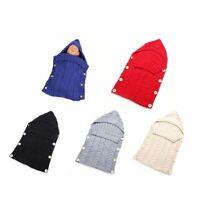 Newborn Baby Blanket Knit Sleeping Bag Receiving Blankets Stroller Wrap for Baby