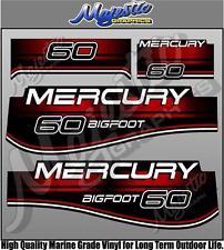 MERCURY - 60hp BIGFOOT - OUTBOARD DECALS