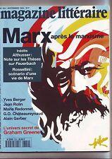le magazine litteraire 324 septembre 1994 / Marx - -