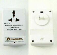 AC 110V to 220V 150W Transformer Step Up&Down Dual Voltage Converter Adapter