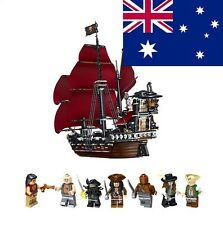 ship from 4195 the Pirates of the Caribbean Lego compatible  Anne Queen Revenge
