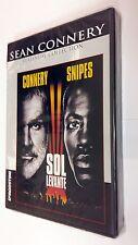 Sol Levante (1993) DVD di Philip Kaufman. Con Sean Connery, Wesley Snipes