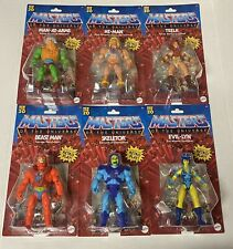 LOT 6 MOTU Master Of The Universe Origins 2020 He-Man,Beast Man,Evil-Lyn.Walmart