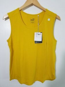 1 NWT PUMA WOMEN'S SHIRT, SIZE: SMALL, COLOR: YELLOW (J46)