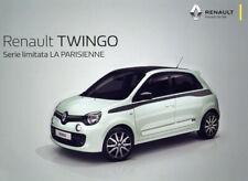 Catalogue brochure prospekt Renault Twingo série limit. La Parisienne IT 2017.09
