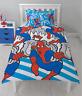 Marvel Spiderman Popart Reversible Single Duvet Cover Bedding Set