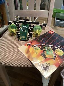 LEGO 6981 Space Black Tron Von 1991 Mit Anleitung
