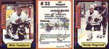 Jackson Bandits 2000-01 Team Set ECHL Minor Hockey