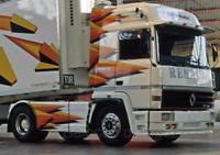 Coche Camión Escala 1:43 Ixo Model Renault R 370 Turbo Camión Lorry diecast