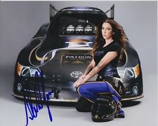 ALEXIS DEJORIA Signed Autographed NHRA FUNNY CAR Photo