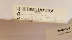 Epson 9000 print heads and parts