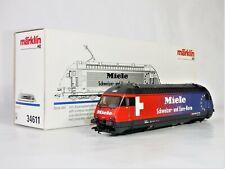 "Märklin Marklin 34611 E-Lok Serie Re 460 SBB ""Miele"" Delta decoder - NEW NEU OVP"
