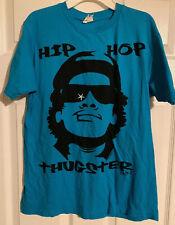 Hip Hop Thugster Eazy-E Blue And Black Medium Bay Island Sportswear T-Shirt Men 00006000 s