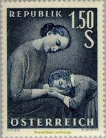 EBS Austria Österreich 1958 Mother's Day - Muttertag ANK 1050 MNH