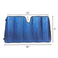Plasma Coated car Windshield Sun Shade Blocks UV Rays Sun Visor SS90
