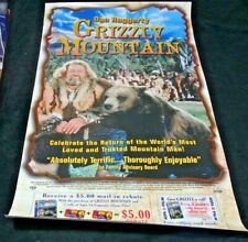 GRIZZLY MOUNTAIN MOVIE POSTER 1 Sided ORIGINAL 27x39 DAN HAGGERTY
