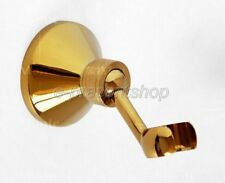 Gold Color Brass Bathroom Handheld Shower Head Wall Mount Bracket Shower Bsh063