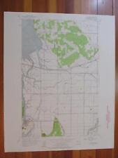 La Conner Washington 1958 Original Vintage USGS Topo Map
