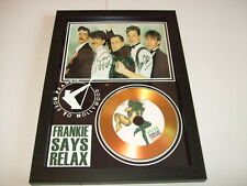 FRANKIE GOES TO HOLLYWOOD  SIGNED  GOLD CD  DISC  4