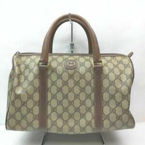 Gucci  Supreme GG Monogram Boston Duffle 860957