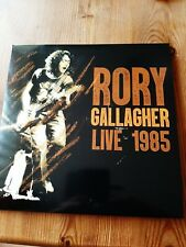 rory Gallagher, Live 1985, Trivold 3lp's, Soundboard quality his best , gatefold
