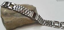 18 mm Vintage SPEIDEL STAINLESS STEEL SILVER TONE LINKS WATCH BAND  NOS