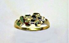 10K SOLID GOLD NUGGET RING SIZE 6 FOR UNISEX #1
