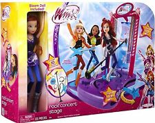 RARE   New WINX CLUB Rock Concert Stage✿ With Bloom Doll Included