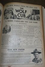 More details for 1935 the scout magazine bind up oct 1935-jan 1936 scouting baden powell cubs *
