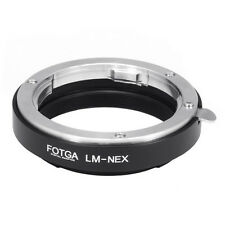 FOTGA Leica M Lens to Sony E-Mount Adapter Ring NEX-3 NEX-5 NEX-7 NEX-5C 5N 5R