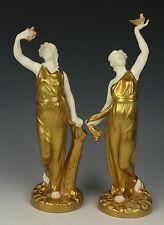 "Royal Worcester Hadley pair of figurines 116 ""Liberty"" & ""Captivity"" WorldWide"