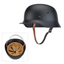 WW II 2 German Elite WH Army M35 M1935 Steel Helmet Stahlhelm M1935 Black 68cm