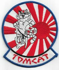 United States Navy Squadron Tomcat F-14 Fighting Jet Patch Sticker New!