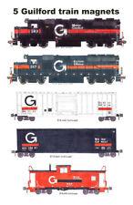 Guilford Transportation set of 5 magnets Andy Fletcher